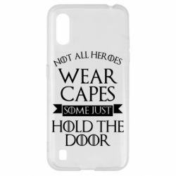 Чехол для Samsung A01/M01 Not all heroes wear capes