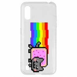 Чохол для Samsung A01/M01 Nyan cat
