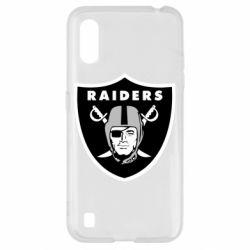 Чохол для Samsung A01/M01 Oakland Raiders