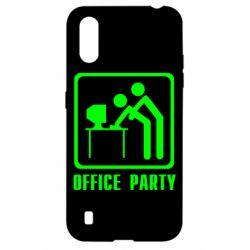Чехол для Samsung A01/M01 Office Party