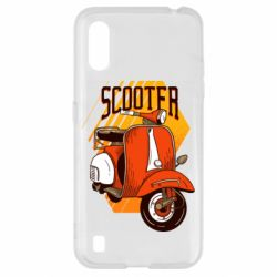 Чохол для Samsung A01/M01 Orange scooter