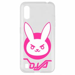 Чехол для Samsung A01/M01 Overwatch dva rabbit