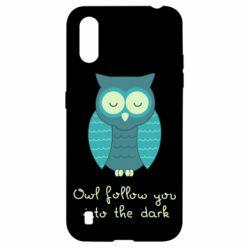 Чехол для Samsung A01/M01 Owl follow you into the dark