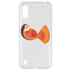 Чохол для Samsung A01/M01 Painted with patterns Bird