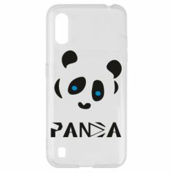 Чохол для Samsung A01/M01 Panda blue eyes