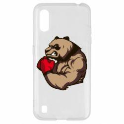 Чехол для Samsung A01/M01 Panda Boxing