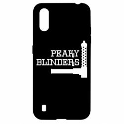 Чохол для Samsung A01/M01 Peaky Blinders and weapon