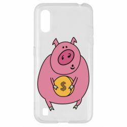 Чохол для Samsung A01/M01 Pig and $