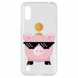 Чохол для Samsung A01/M01 Piggy bank