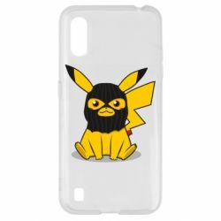 Чохол для Samsung A01/M01 Pikachu in balaclava