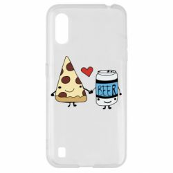 Чохол для Samsung A01/M01 Pizza and beer