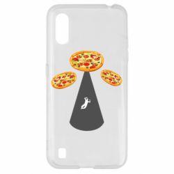 Чохол для Samsung A01/M01 Pizza UFO
