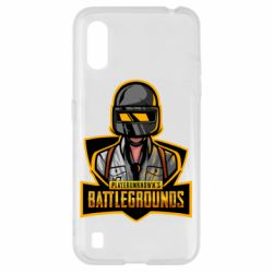 Чехол для Samsung A01/M01 Player unknown battle grounds