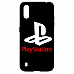 Чехол для Samsung A01/M01 PlayStation