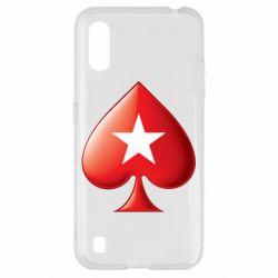 Чохол для Samsung A01/M01 Poker Stars 3D Logo