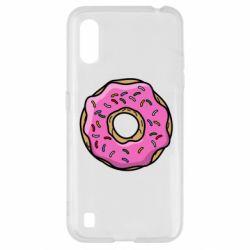 Чехол для Samsung A01/M01 Пончик Гомера