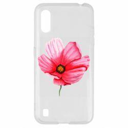 Чехол для Samsung A01/M01 Poppy flower