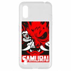 Чохол для Samsung A01/M01 Poster samurai Cyberpunk