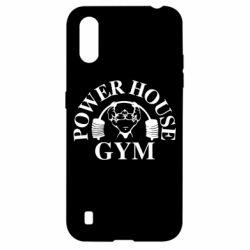 Чехол для Samsung A01/M01 Power House Gym