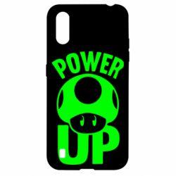 Чохол для Samsung A01/M01 Power Up Маріо гриб