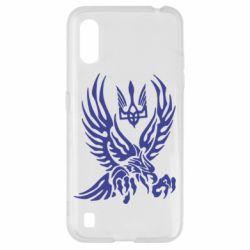 Чохол для Samsung A01/M01 Птах та герб