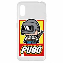 Чехол для Samsung A01/M01 PUBG LEGO