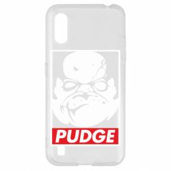 Чохол для Samsung A01/M01 Pudge Obey