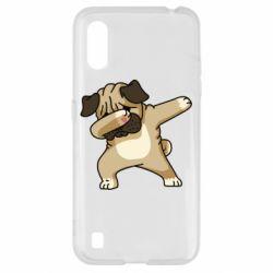 Чохол для Samsung A01/M01 Pug Swag