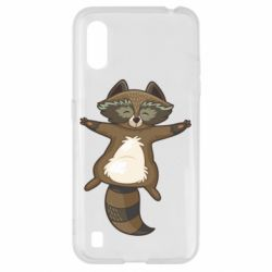 Чохол для Samsung A01/M01 Raccoon