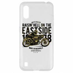 Чохол для Samsung A01/M01 Raisin Hell Moto Racer