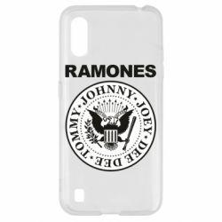 Чохол для Samsung A01/M01 Ramones