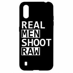 Чохол для Samsung A01/M01 Real Men Shoot RAW