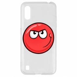 Чехол для Samsung A01/M01 Red Ball game