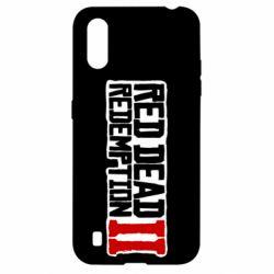 Чохол для Samsung A01/M01 Red Dead Redemption logo