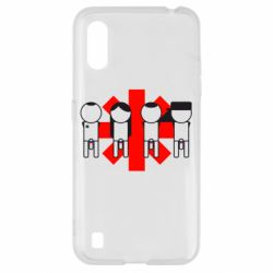 Чохол для Samsung A01/M01 Red Hot Chili Peppers Group