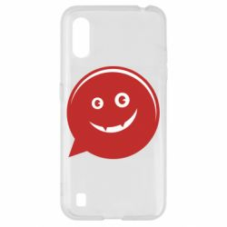 Чехол для Samsung A01/M01 Red smile