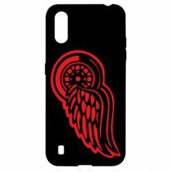 Чехол для Samsung A01/M01 Red Wings