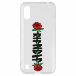 Чехол для Samsung A01/M01 RipnDip rose