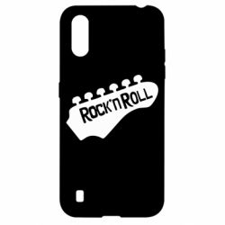 Чехол для Samsung A01/M01 Rock n Roll