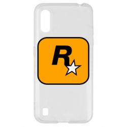 Чохол для Samsung A01/M01 Rockstar Games logo