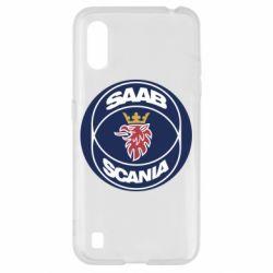 Чехол для Samsung A01/M01 SAAB Scania