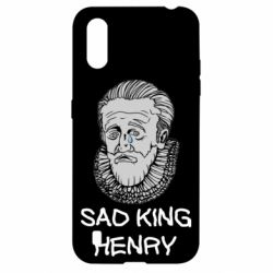 Чехол для Samsung A01/M01 Sad king henry