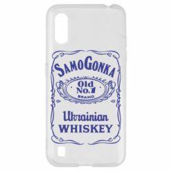 Чохол для Samsung A01/M01 SamoGonka (Jack daniel's)