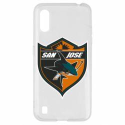 Чохол для Samsung A01/M01 San Jose Sharks