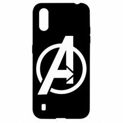 Чохол для Samsung A01/M01 Сaptain Аmerica logo