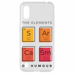 Чохол для Samsung A01/M01 Sarcasm