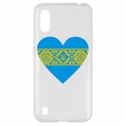 Чехол для Samsung A01/M01 Серце України