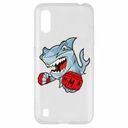 Чохол для Samsung A01/M01 Shark MMA