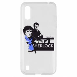 Чехол для Samsung A01/M01 Sherlock (Шерлок Холмс)