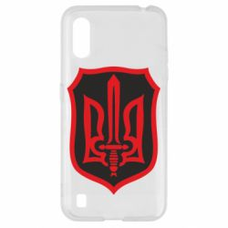 Чехол для Samsung A01/M01 Shield with the emblem of Ukraine and the sword